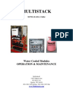 Water Cooled chiller operation & maintenance manual