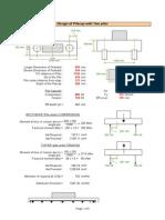 Design of Pilecap - Is Code