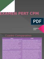 Examen Pert CPM