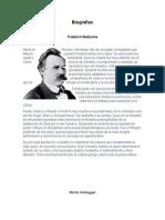 Biografías de Filosofía.