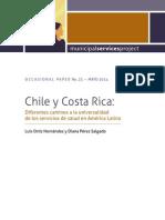 Chile y Costa Rica