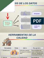 Diagramas de Dispersion, Pareto herramientas de calidad