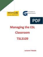 TSL MangingPrimary ESL