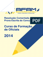Resolucao Comentada CFO 2014