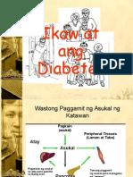 Diabetes lecture (Tagalog)