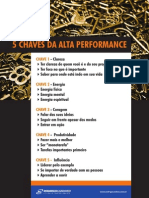 5 Chaves Para Alta Performance