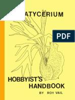 Platycerium Hobbyists Handbook