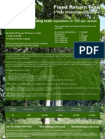 GIS a FixedReturn Projection Sheet
