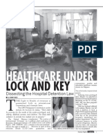 Healthcare Under Lock and Key