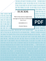 SUICIDE Project for school