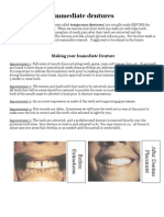 Info Immediate Dentures