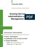 Introduction to Nursing Leadership