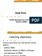 Unit 5-Health Management Information System (HMIS).ppt