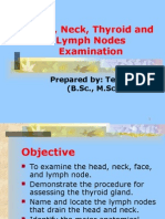 Unit-6-Head, Neck, Thyroid and Lymph Nodes Examination.ppt