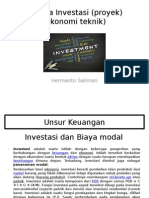 Analisa Investasi