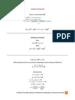 Teoremi e Definizioni
