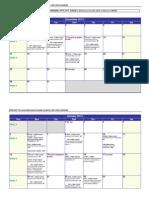 MON1800 timetable 2013-2014