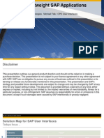 HTML5 for Lightweight SAP Applications