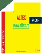 Altex -proiect management