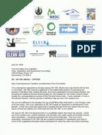 Environmental groups oppose AB1991