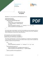 TP Exceptions en Java