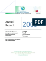 The Foundation for Post Conflict Development 2009 Annual Report