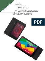 Proyecto con tablets y móviles Bq en Escuela Infantil El Nogal de Alpedrete