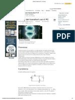 Analisi Dei Transitori Con Il PC - ElectroYou