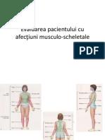 1.Evaluarea Clinica Si Functionala a Pacientului Cu Afectiuni Musculoscheletale