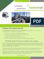 Isotrend Ir 192 Brochure.pdf