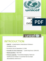Brief overview of UNICEF India