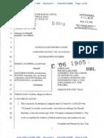 Jacobsen v. Katzer Complaint