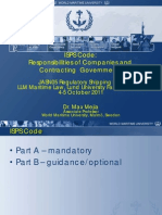 Maritime Secxcurity - IsPS Code Intro Ppt