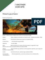 Glosario gauchesco | De Fierro
