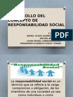 Desarrollo Del Concepto de Responsabilidad Social
