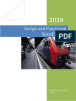 Design and Functional Specification