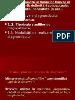 diagnostic financiar-bancar