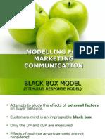Modelling for Marketing Communication (1)