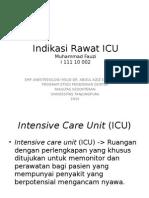 Bimbingan-Indikasi Rawat ICU