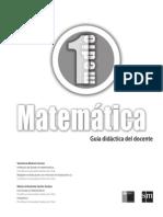 Texto 1 Medio Matemática Profesor