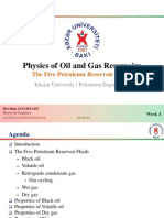 Physics of Oil and Gas Reservoirs
