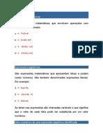 Material de Matematica Para Concurso Da Camara