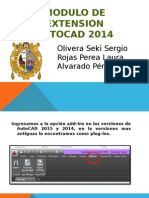Modulo de extension AUTOCAD