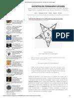 A Estrela Absinto & a Doutrina Da Inversão _ Escritos de Fernando Liguori