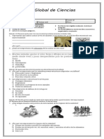 Evaluacion Global 1 Ciencias Naturales