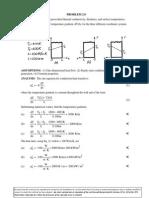 Fundamental of Heat Transfer Chapter 2 Problem 9 Answer Key
