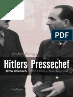 Stefan Krings - Hitlers Pressechef