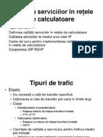 Calitatea Serviciilor În Rețele de Calculatoare