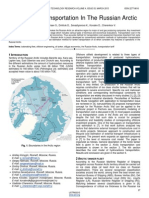 Oil Tanker Transportation in the Russian Arctic