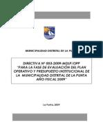 Directiva_Evaluación 2009 BASE